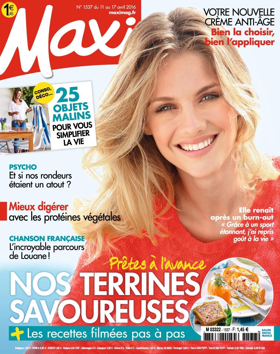 Maxi N°1537 - 11 au 17 Avril 2016