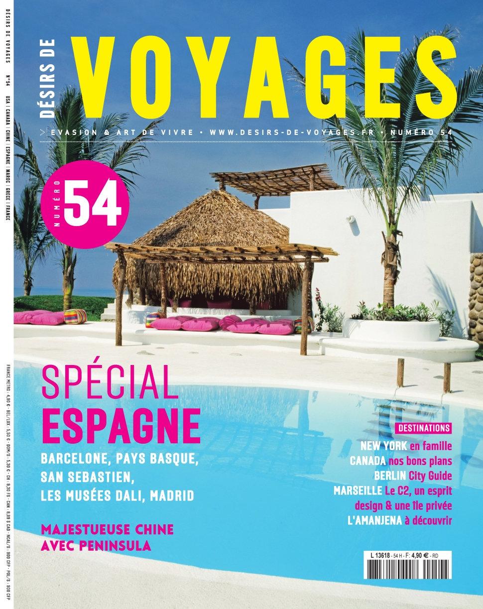 Désirs de Voyages N°54 - Avril/Mai 2016