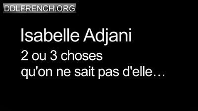 Isabelle Adjani Deux ou trois choses qu'on ne sait pas d'elle uptobox torrent streaming 1fichier uploaded