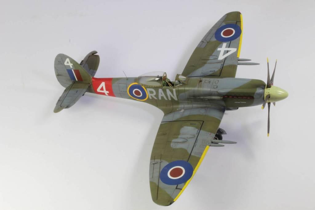 Spitfire F MK 22 , Eduard 1/48 .Limited édition ! 160413105100315158