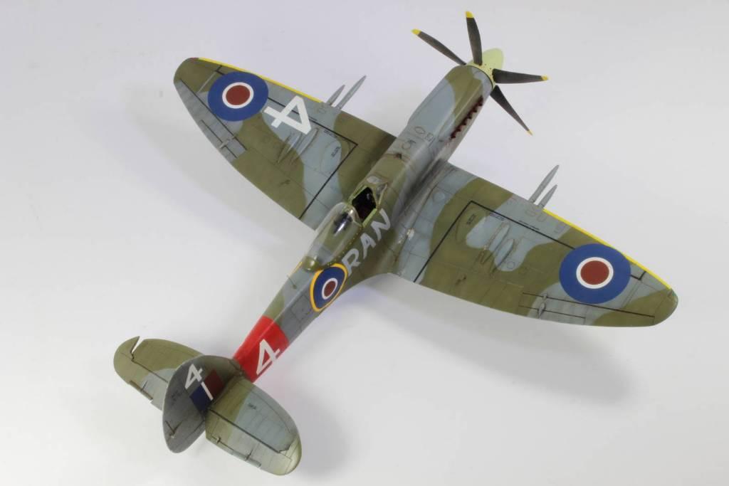 Spitfire F MK 22 , Eduard 1/48 .Limited édition ! 160413105208887829