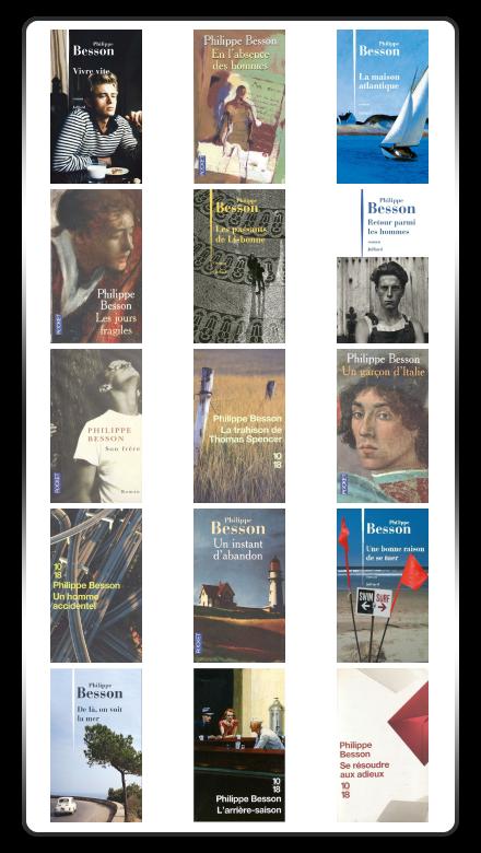 [PACK] Philippe Besson - 15 ebooks (2001-2016)