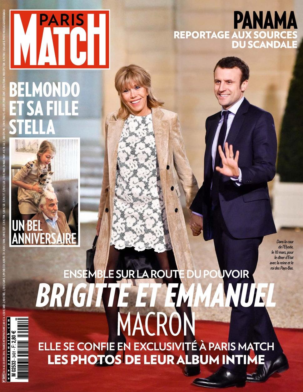 Paris Match N°3491 - 14 au 20 Avril 2016