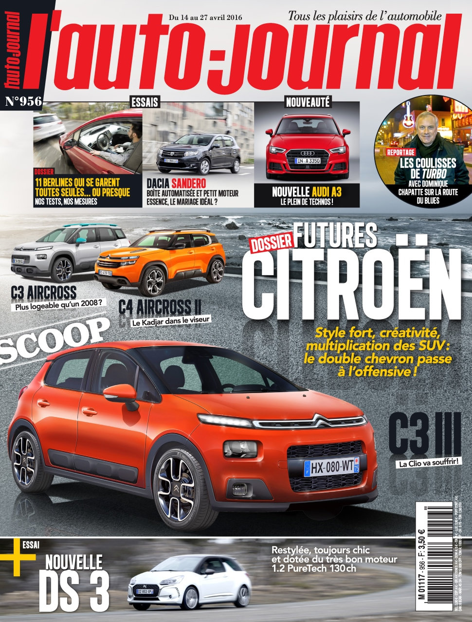 L'Auto-Journal N°956 - 14 au 27 Avril 2016
