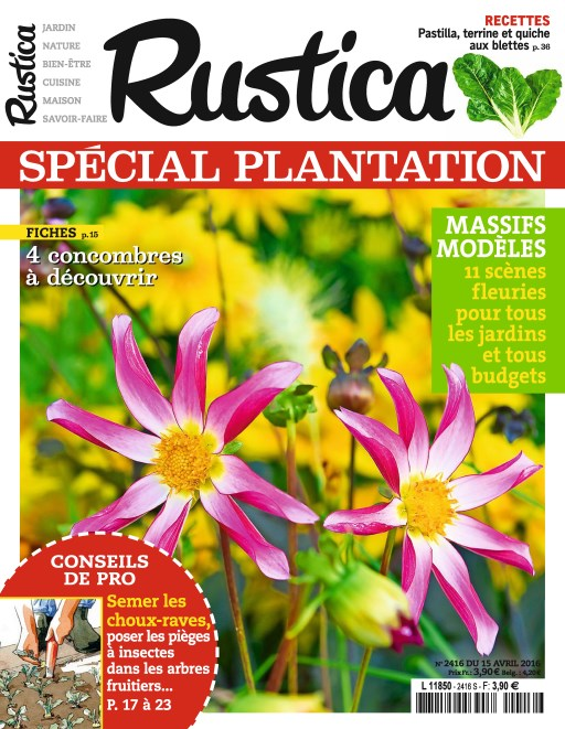 Rustica N°2416 - 15 au 21 Avril 2016