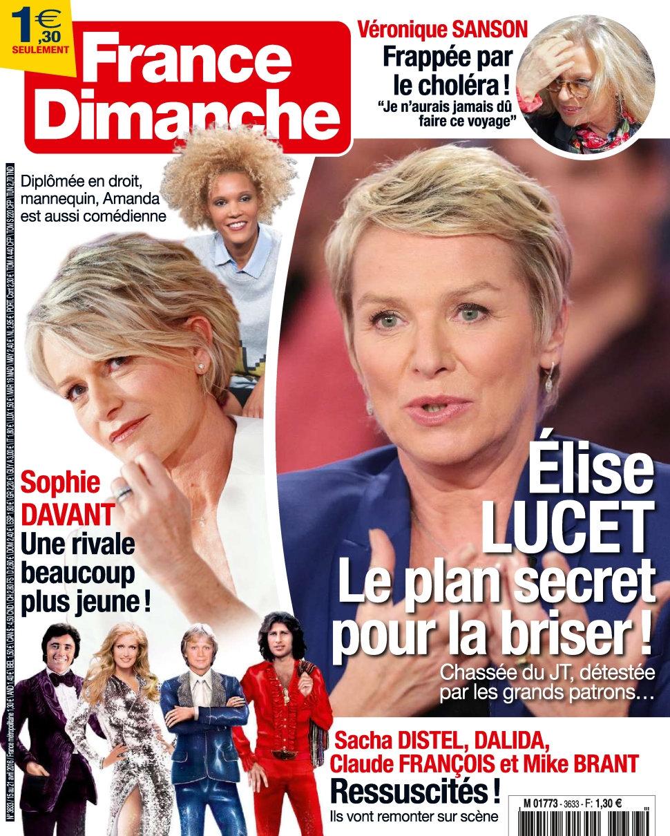 France Dimanche N°3633 - 15 au 21 Avril 2016
