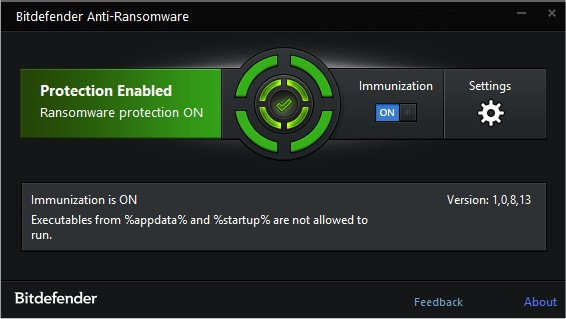 Bitdefender Anti-Ransomware 1.0.11.147   portable
