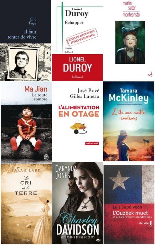 Dernières sorties littéraires Aout Sept 2015 - Sélection 35 epub