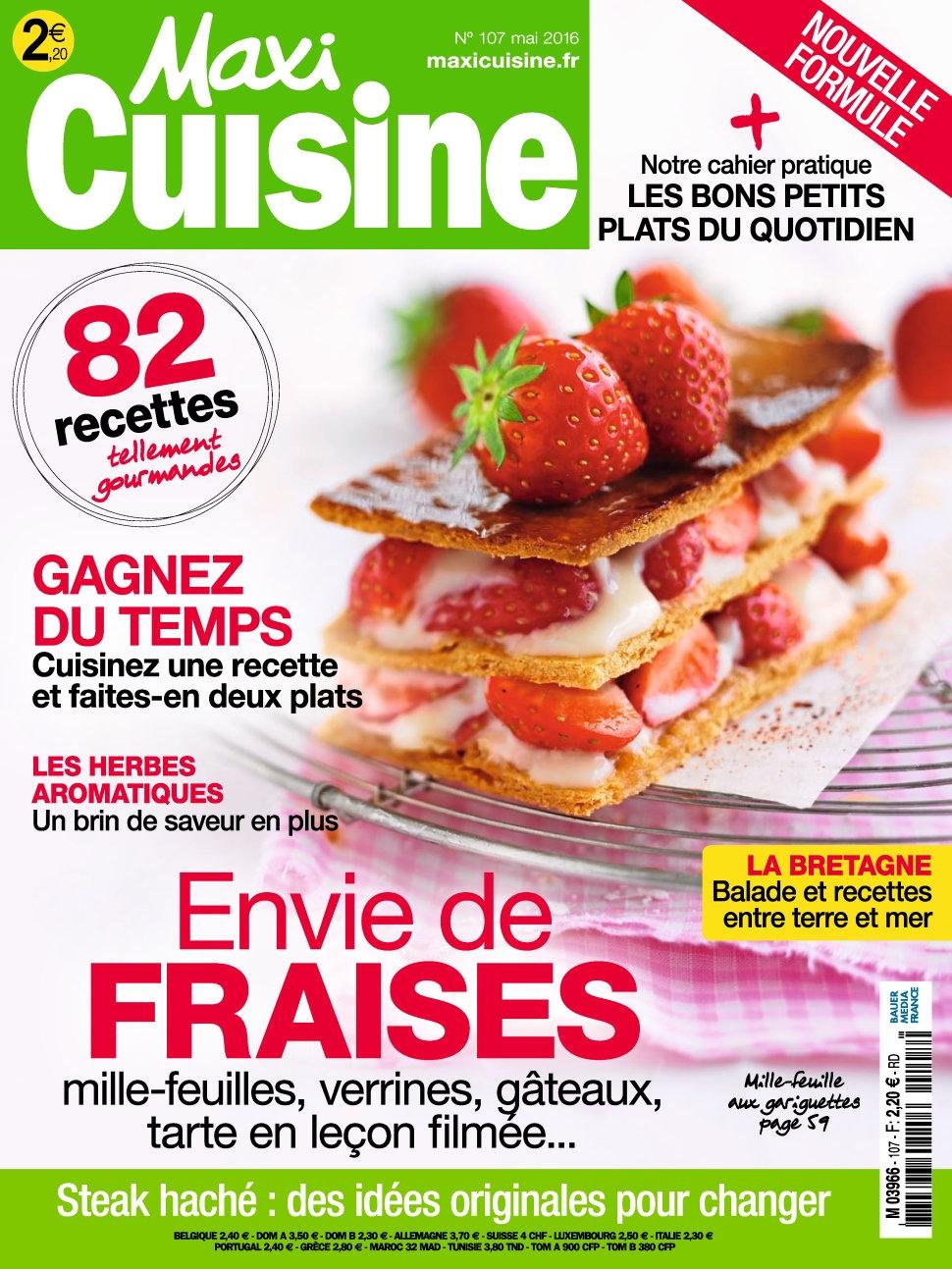 Maxi Cuisine N°107 - Mai 2016