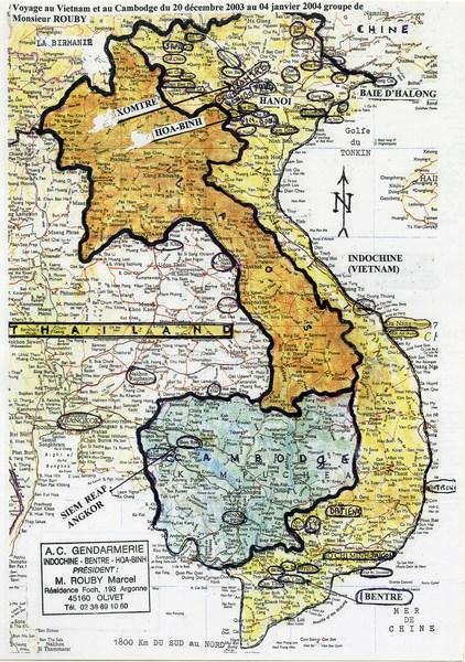 la vie d'un gendarme en poste en Indochine en 1948 160418111306554643