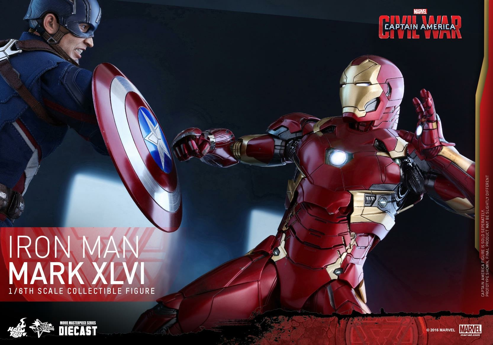 CAPTAIN AMERICA : CIVIL WAR - IRON MAN MARK XLVI (MMS353DC16) 160419024014889267