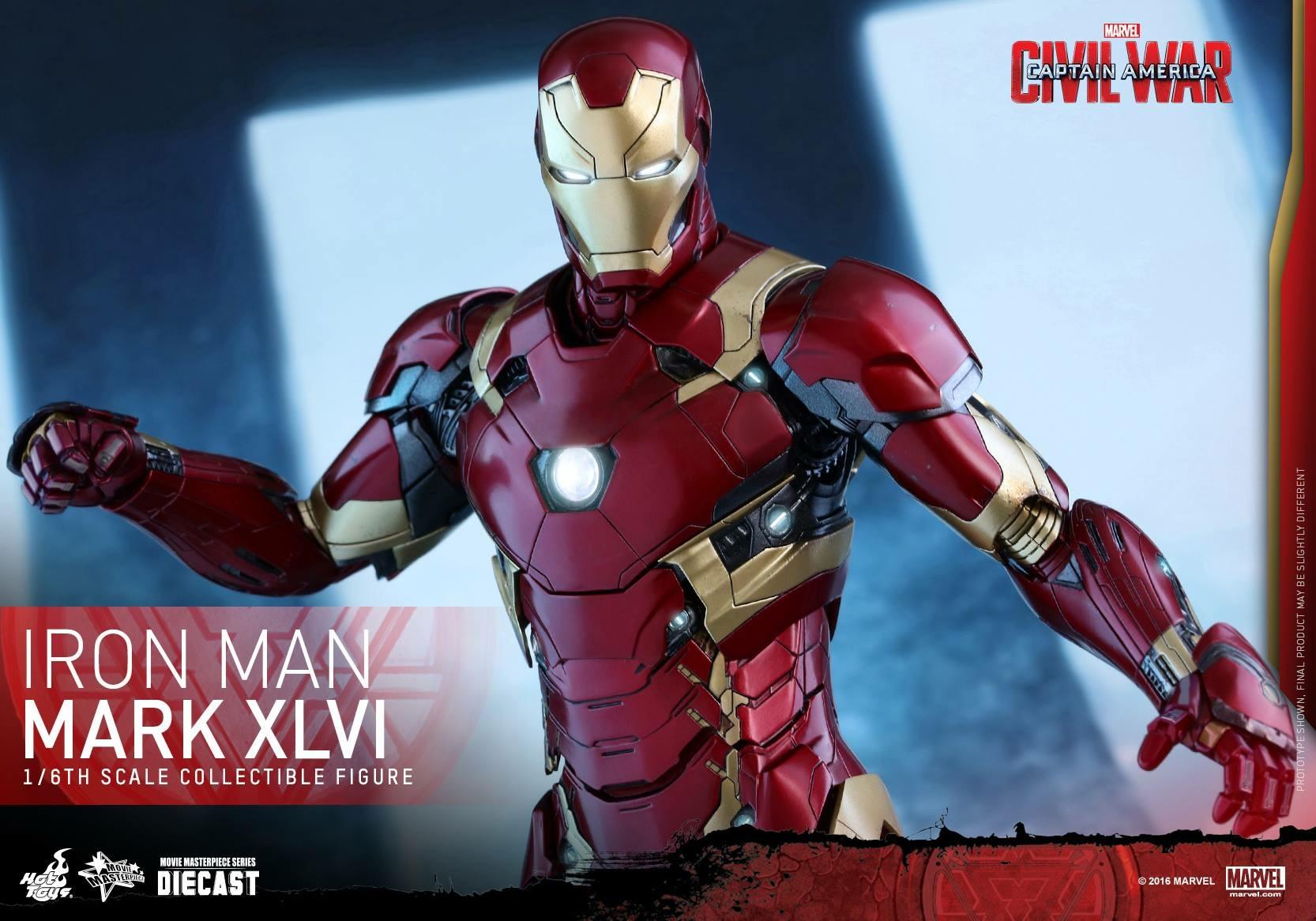 CAPTAIN AMERICA : CIVIL WAR - IRON MAN MARK XLVI (MMS353DC16) 160419024057799880