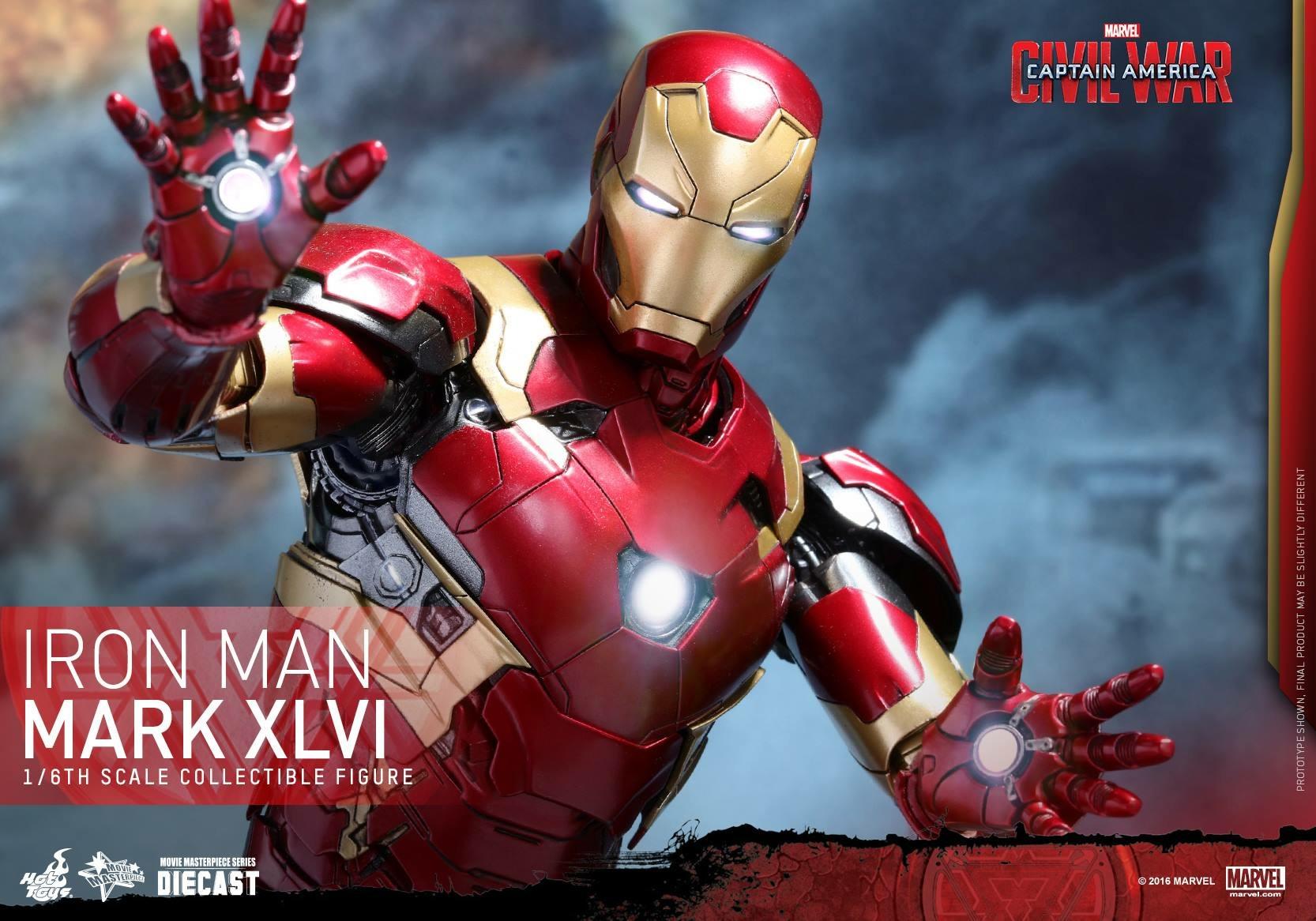 CAPTAIN AMERICA : CIVIL WAR - IRON MAN MARK XLVI (MMS353DC16) 160419024113128991