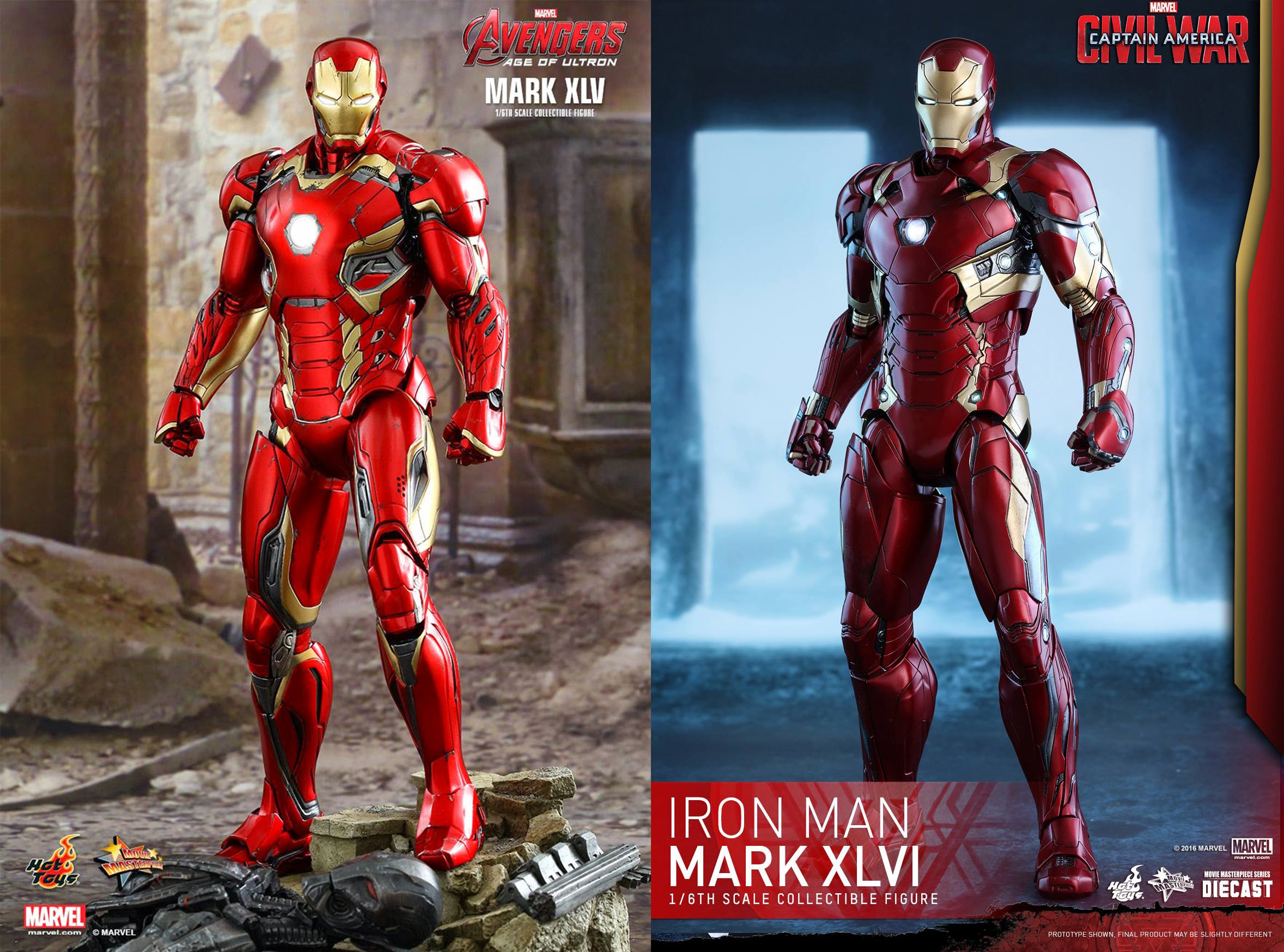 AVENGERS 2 : AGE OF ULTRON - IRON MAN MARK XLV (MMS300DC11) - Page 3 160419031702825991