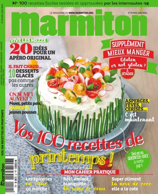 Marmiton N°29 - Vos 100 Recettes de printemps sur Bookys