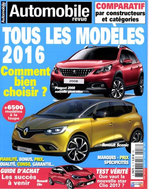 Automobile revue N°53 - Mai/Juin/Juillet 2016