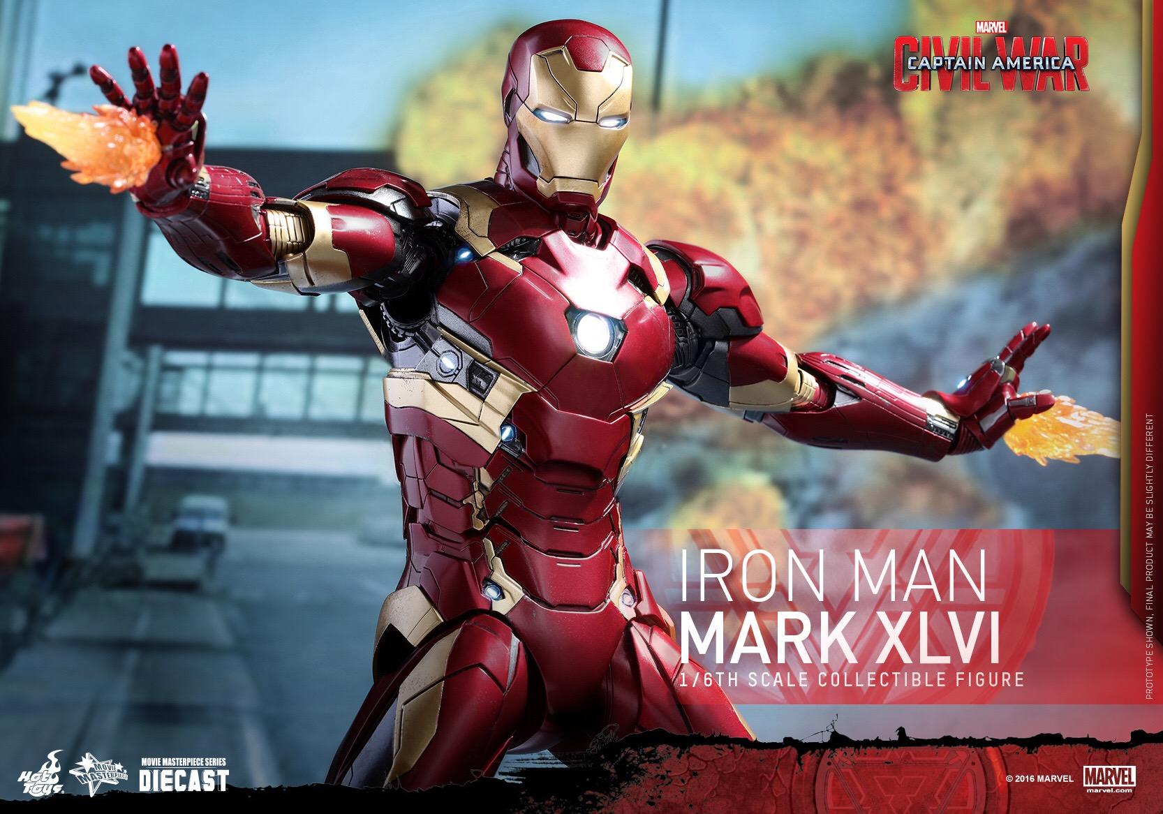 CAPTAIN AMERICA : CIVIL WAR - IRON MAN MARK XLVI (MMS353DC16) 160420020903335673