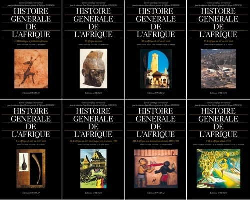 Histoire générale de l'Afrique - 8 volumes