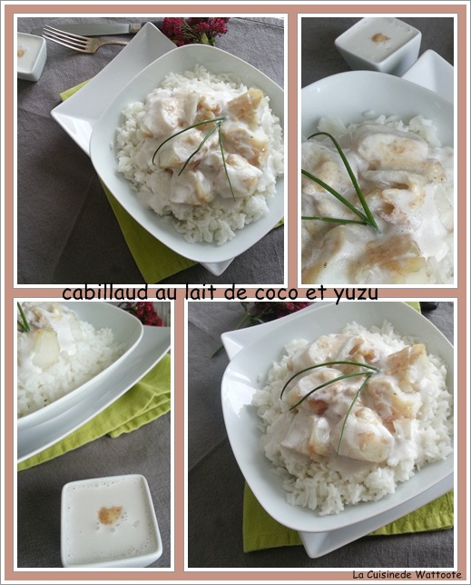 cabillaud coco yuzu