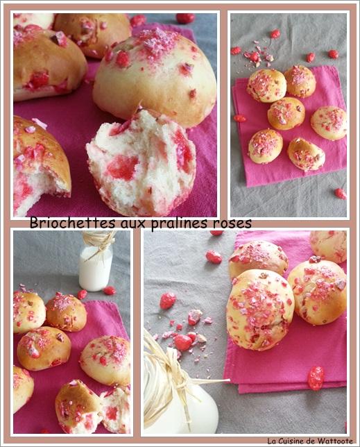 briochettes pralines roses