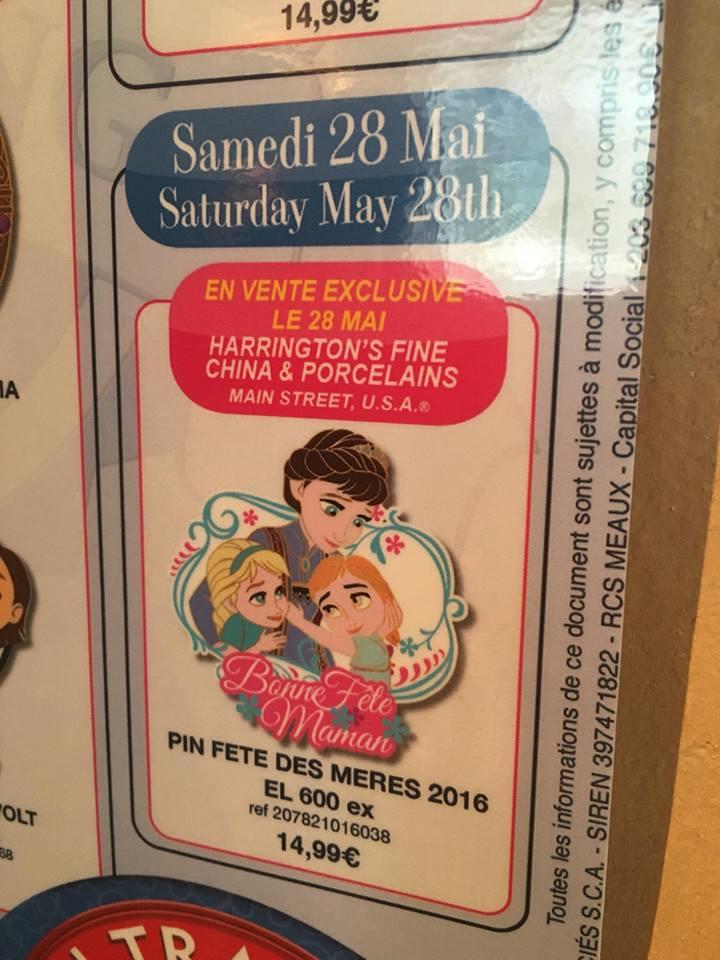 Le Pin Trading à Disneyland Paris - Page 6 160430045249992024