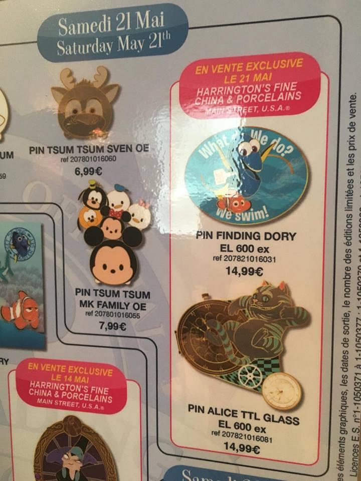 Le Pin Trading à Disneyland Paris - Page 6 160430045255925960