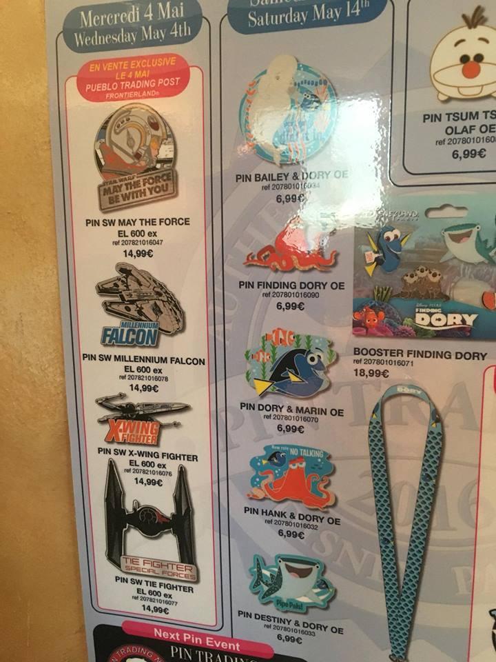 Le Pin Trading à Disneyland Paris - Page 6 160430045256399121