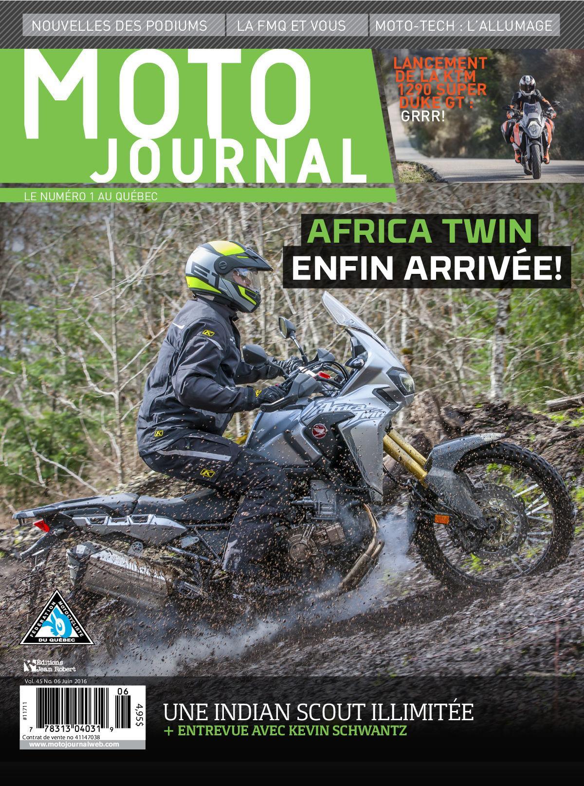 Moto Journal - Juin 2016