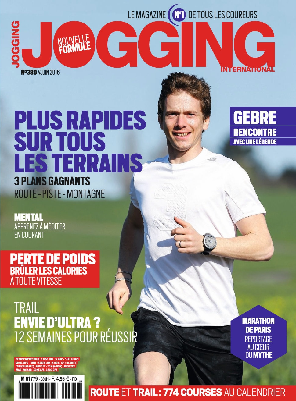 Jogging International N°380 - Juin 2016