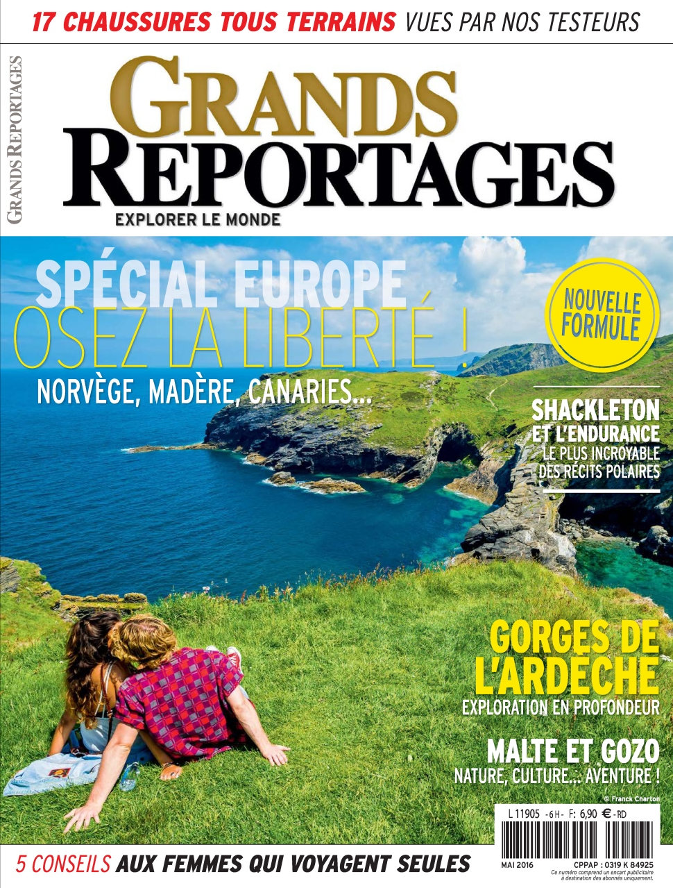 Grands Reportages N°418 - Mai 2016