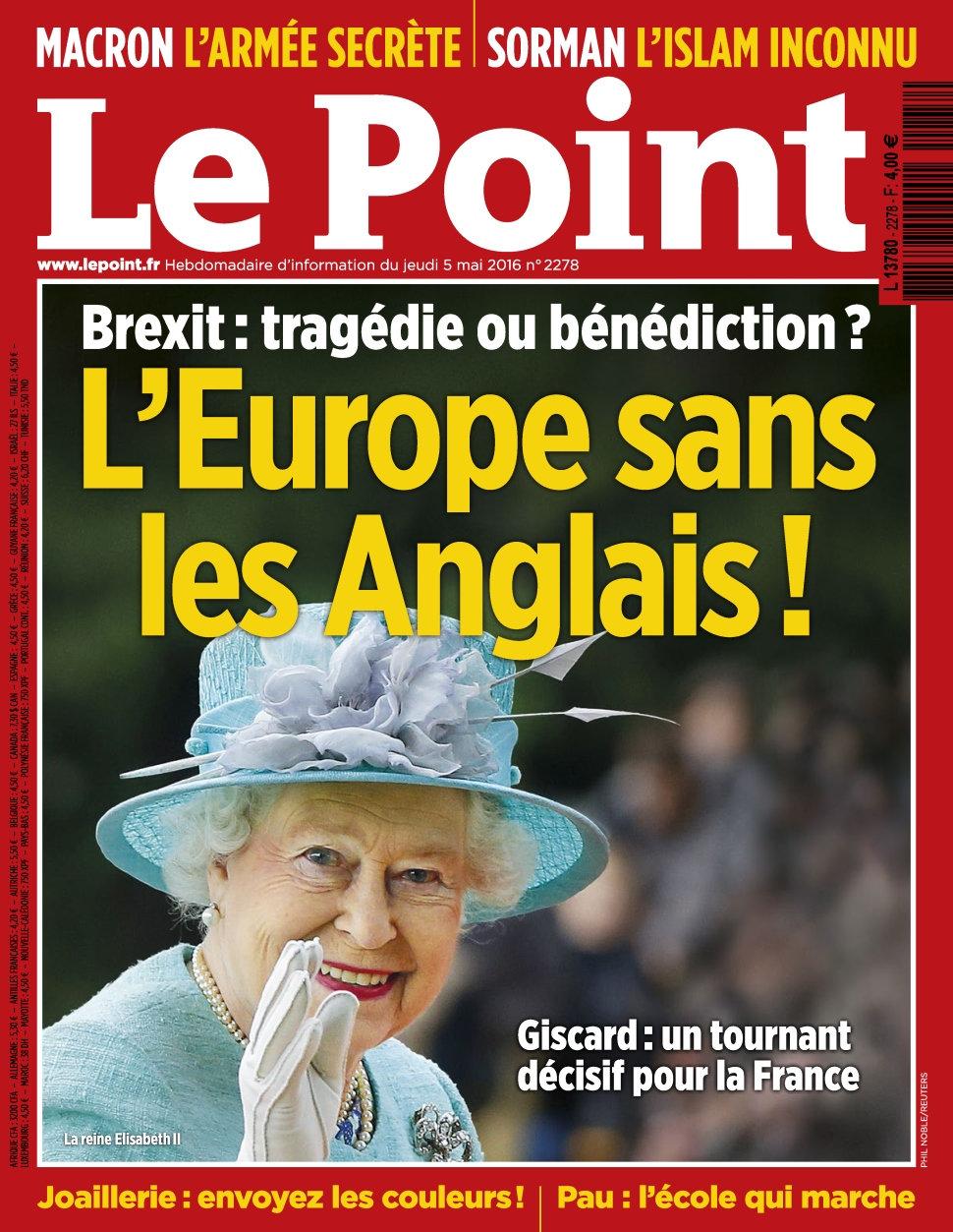 Le Point N°2278 du 05 au 11 Mai 2016