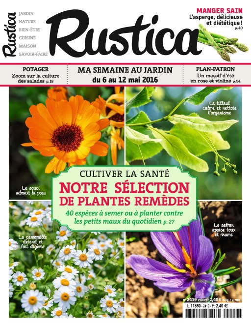 Rustica N°2419 du 6 au 12 Mai 2016