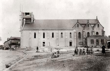 Eglise en construction