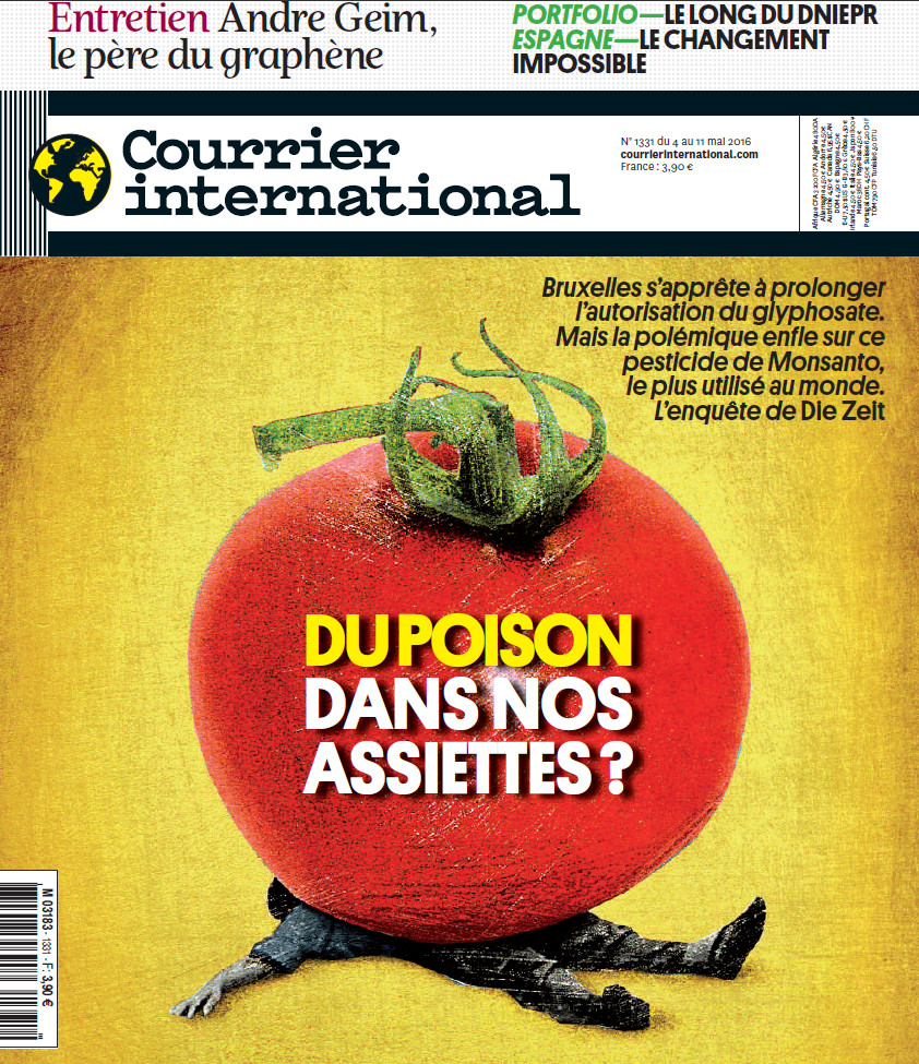 Courrier International N°1331 Du 4 au 11 mai 2016