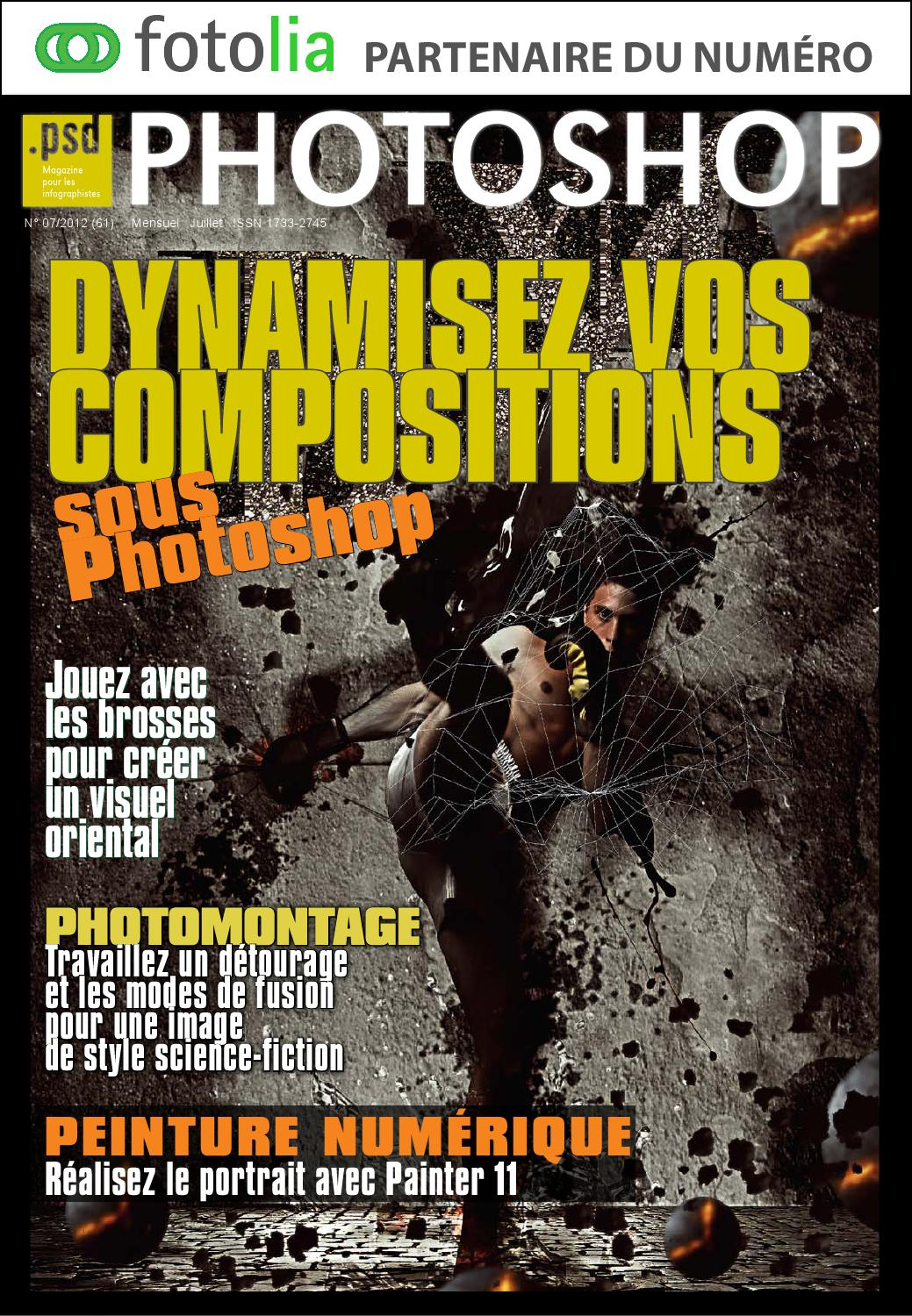 Photoshop N°61 - Dynamisez vos Compostions - 2016