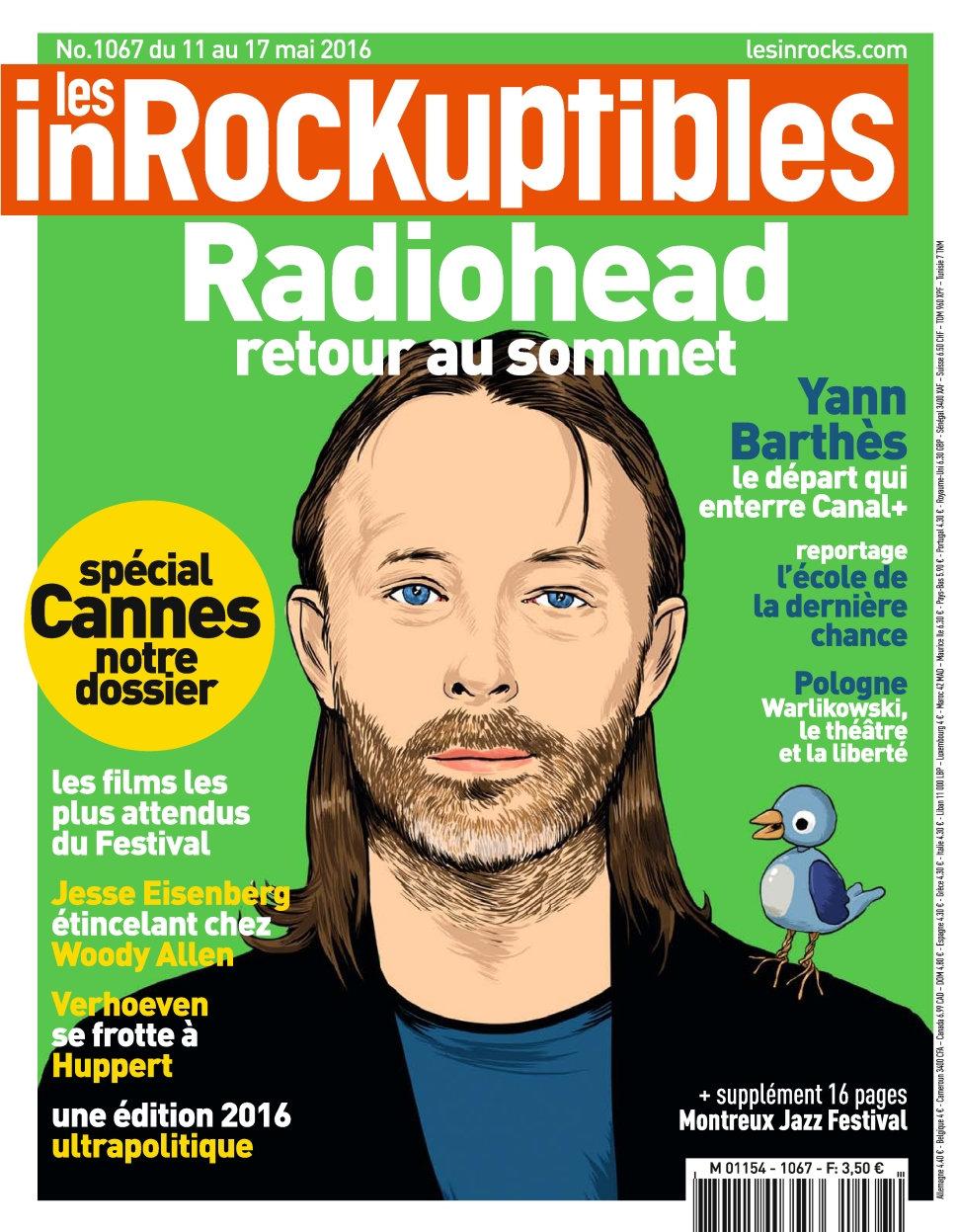 Les Inrockuptibles N°1067 - 11 au 17 Mai 2016
