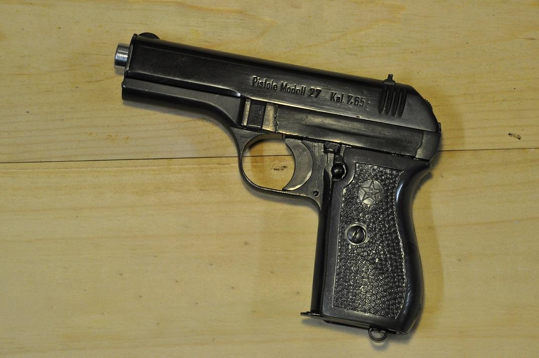 Pistolet CZ 27 160514101912553979