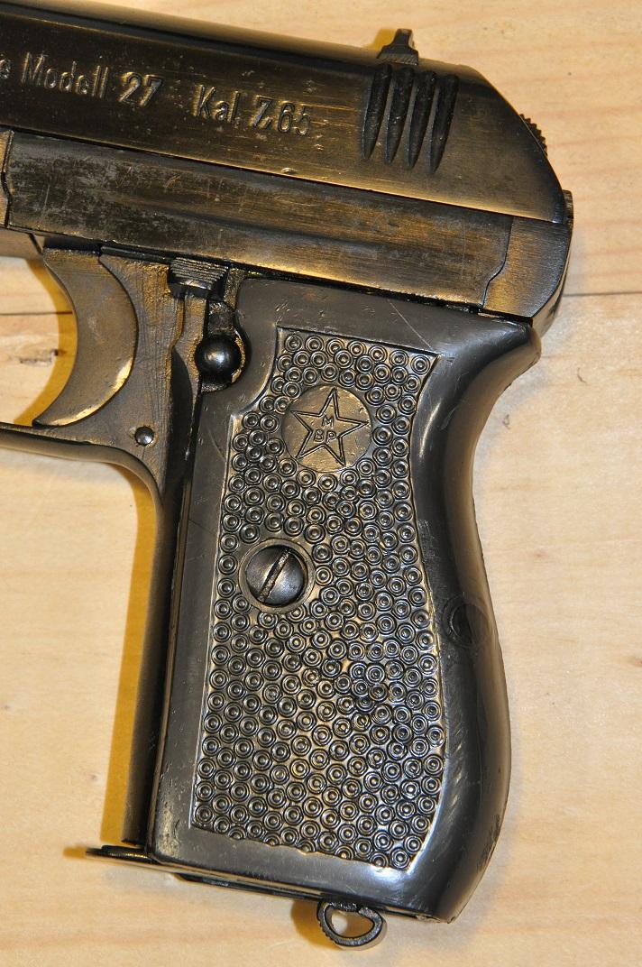 Pistolet CZ 27 160514102404444664