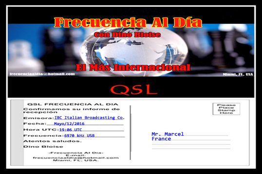eQSL de Frecuencia Al Dia  16051412305168758
