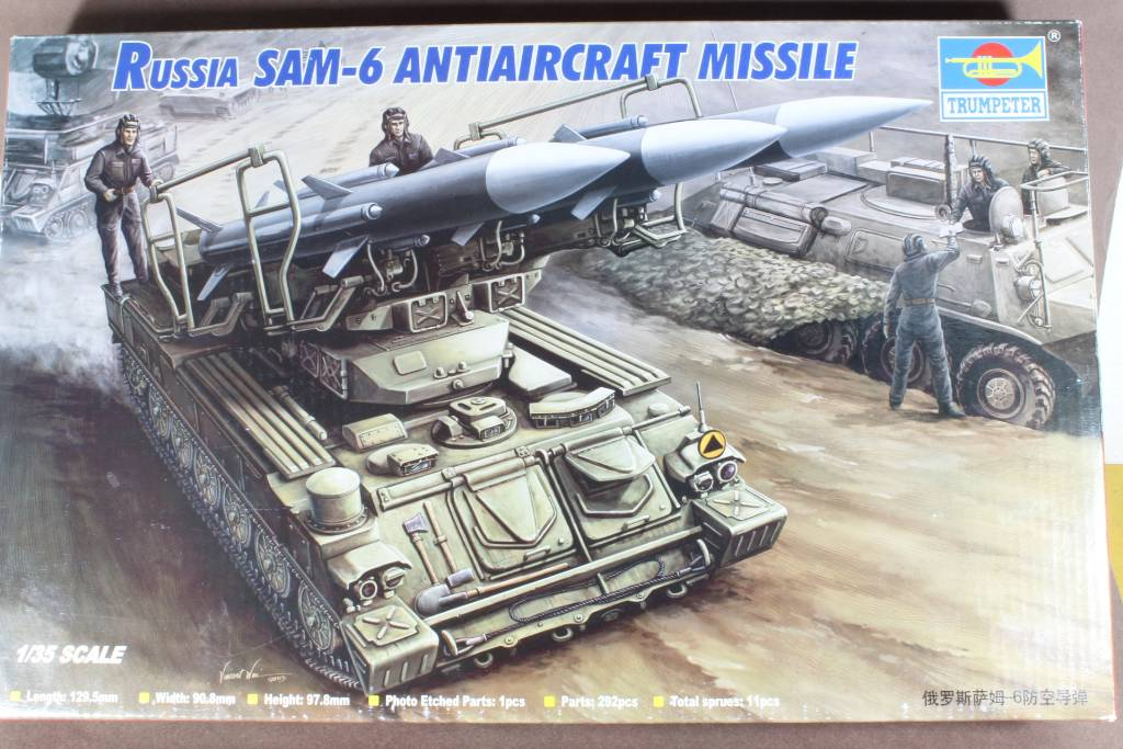 Montage Russia SA-6 Gainful ( 2K12 Kub ) Trumpeter 1/35 160515031255346812
