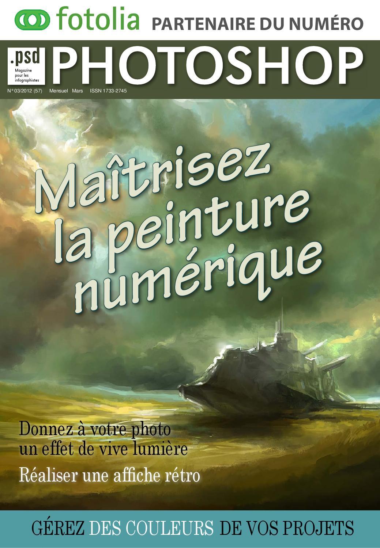 Photoshop No.57 - Maitrisez La Peinture Numerique