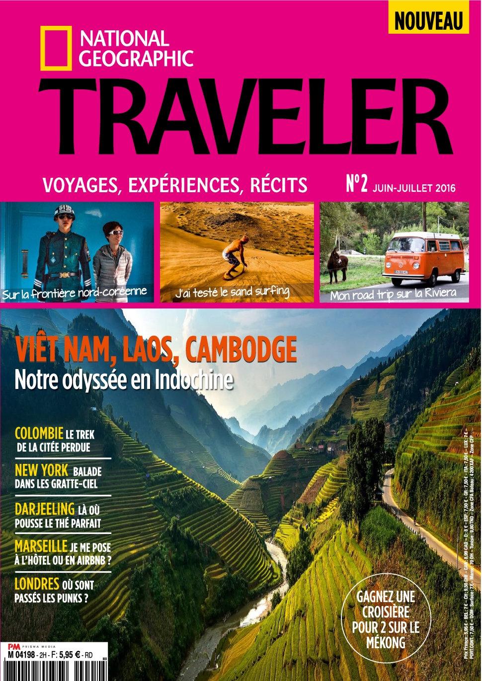National Geographic Traveler N°2 - Juin/Juillet 2016