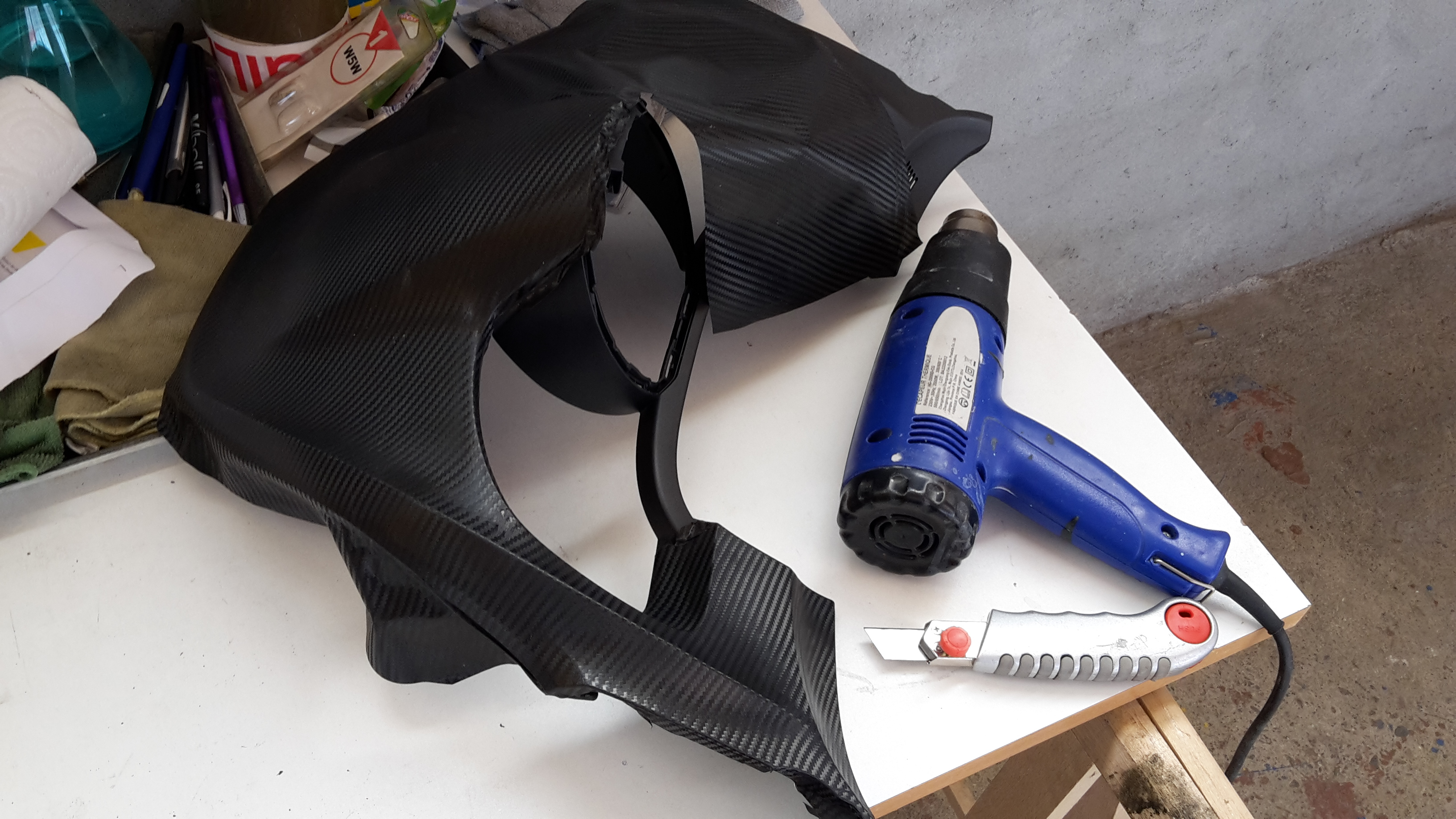 Casquette compteur Covering Carbone 160520063850568352