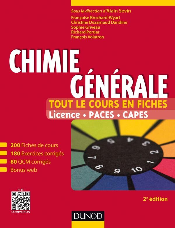 Chimie générale - Tout le cours en fiches : Licence, PACES, CAPES site compagnon