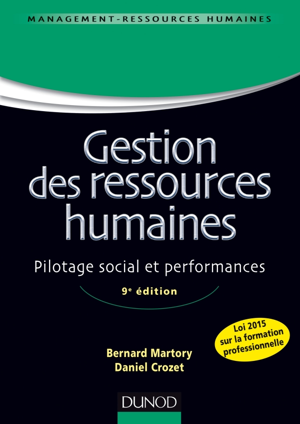 télécharger Gestion des ressources humaine : Pilotage social et performances