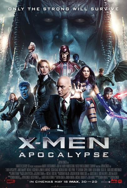 X Men Apocalypse 2016 720p HDCAM x264-Exclusive