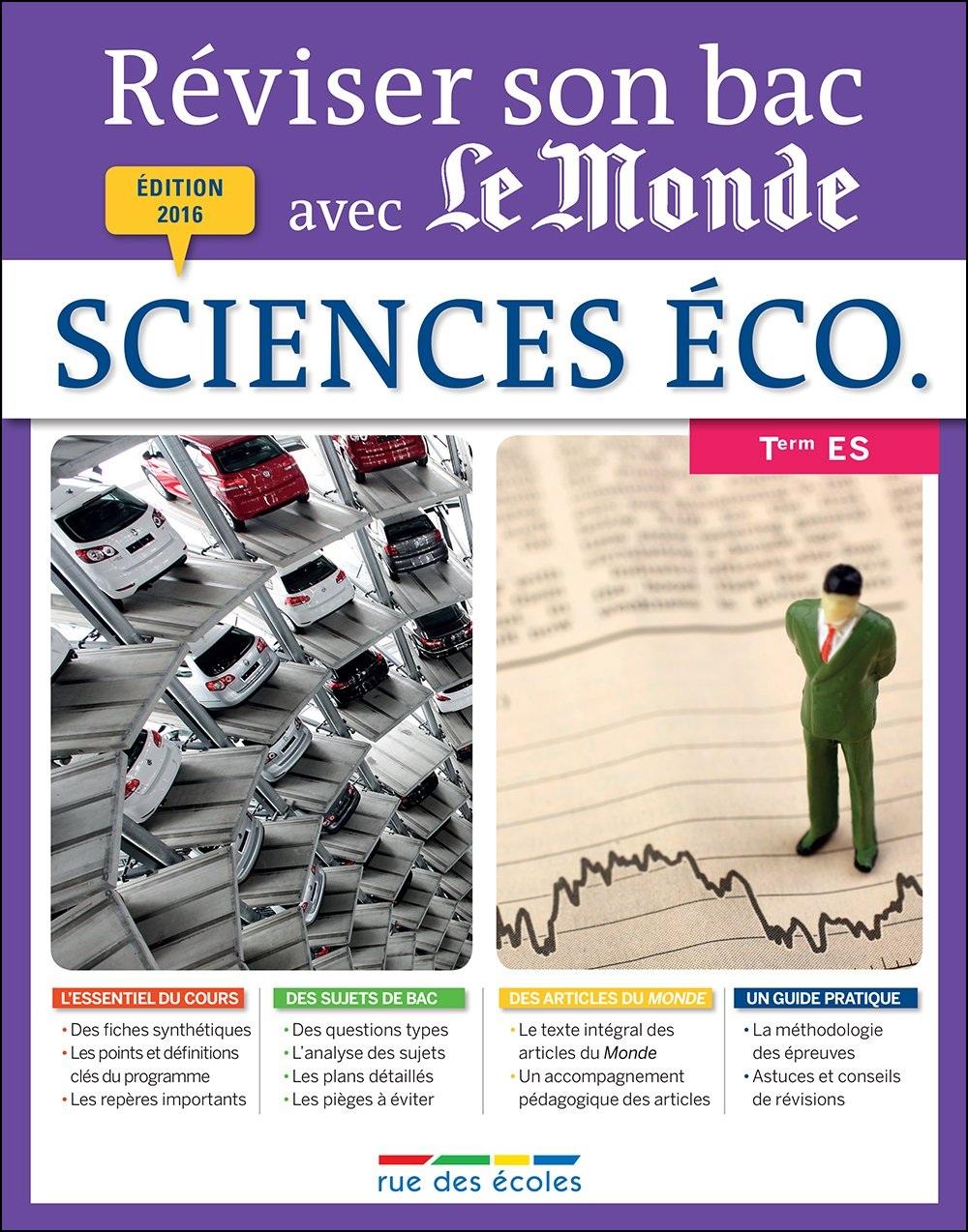 Réviser son bac avec le monde : sciences éco