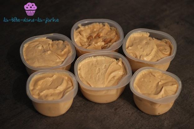 Crème glacée au speculoos