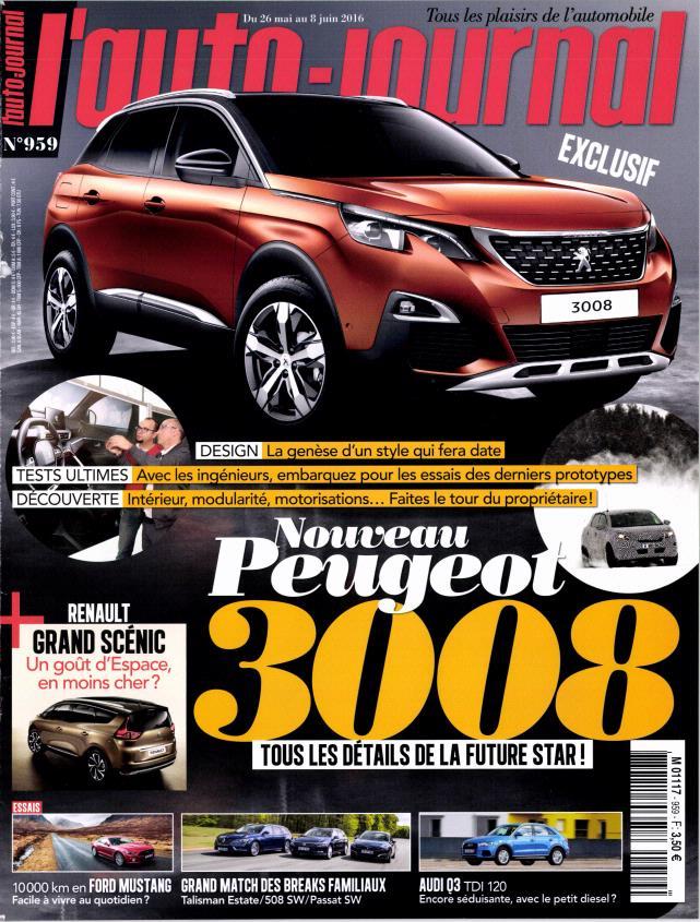 L'Auto-Journal N°959 - 26 Mai au 8 Juin 2016
