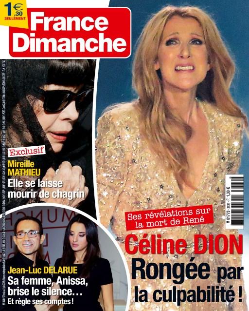 France Dimanche N°3639 - 27 Mai au 2 Juin 2016